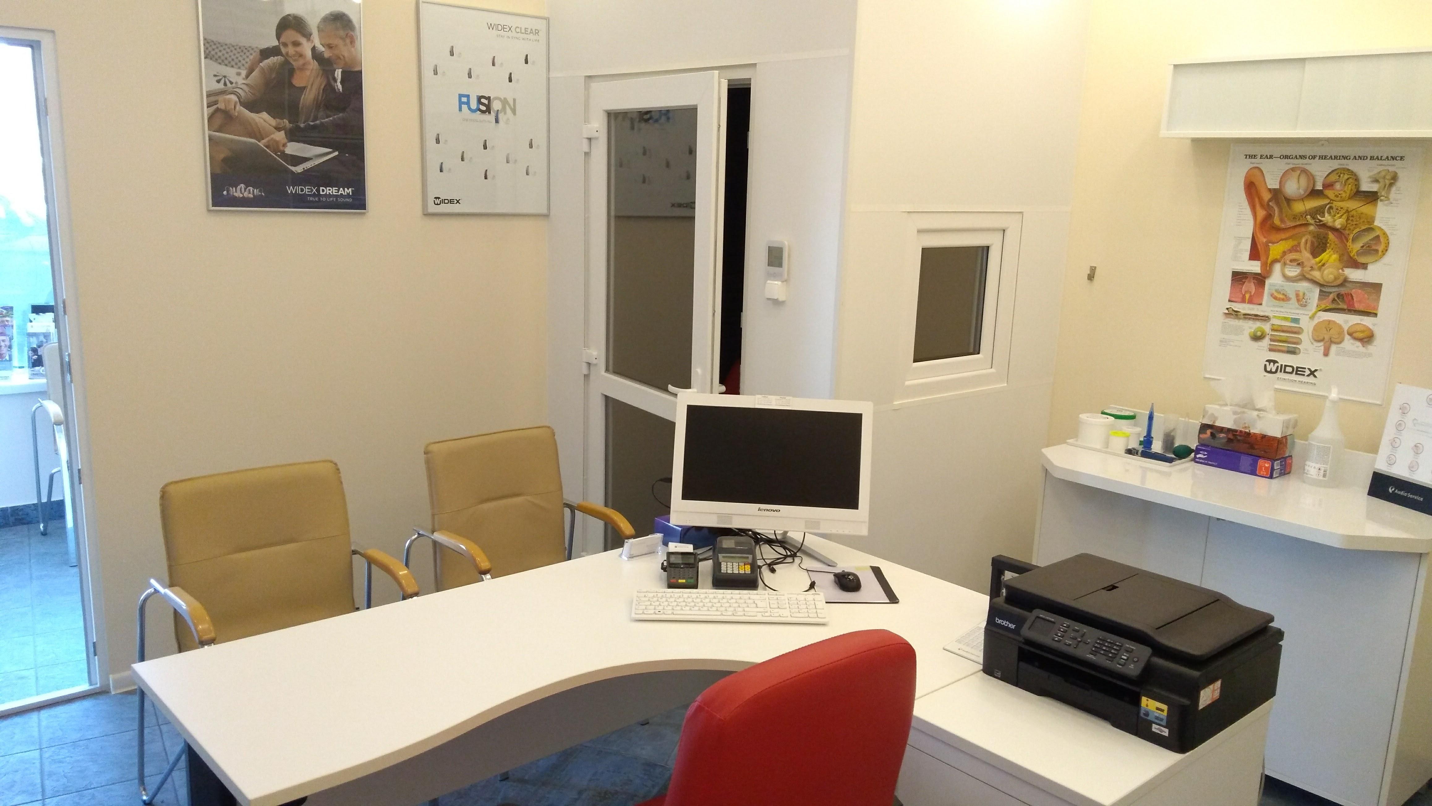 kabina audiometryczna do badań słuchu