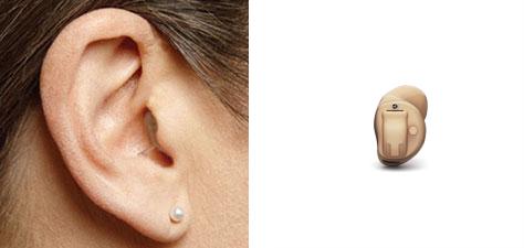Aparaty słuchowe wewnątrzkanałowe (CIC)