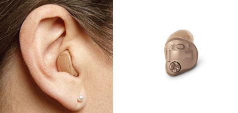 aparaty słuchowe wewnątrzuszne ITE